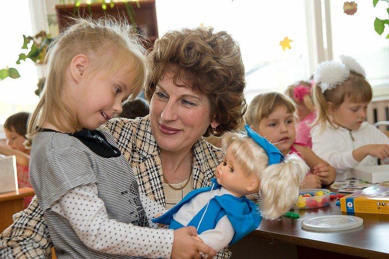Отношения с воспитателем детского