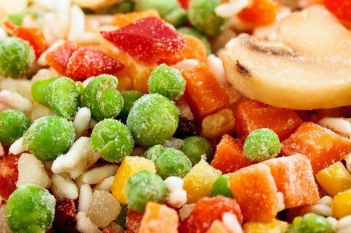 замороженные фрукты и овощи, правила замораживания