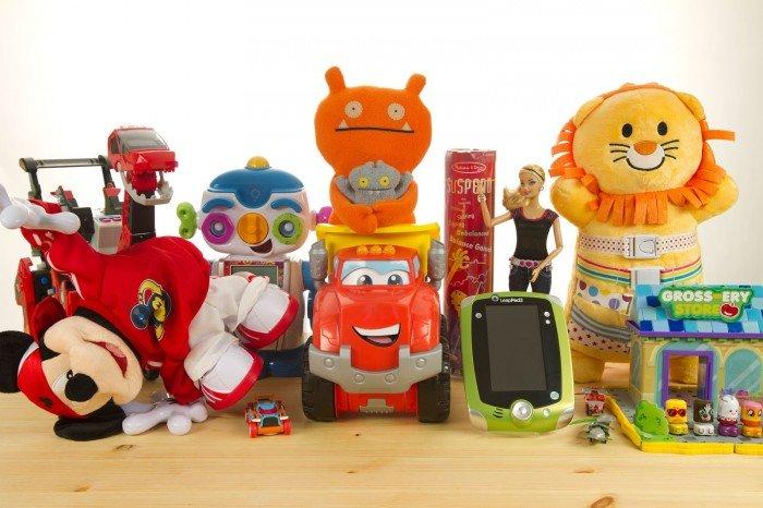 игрушки для детей, новогодние подарки