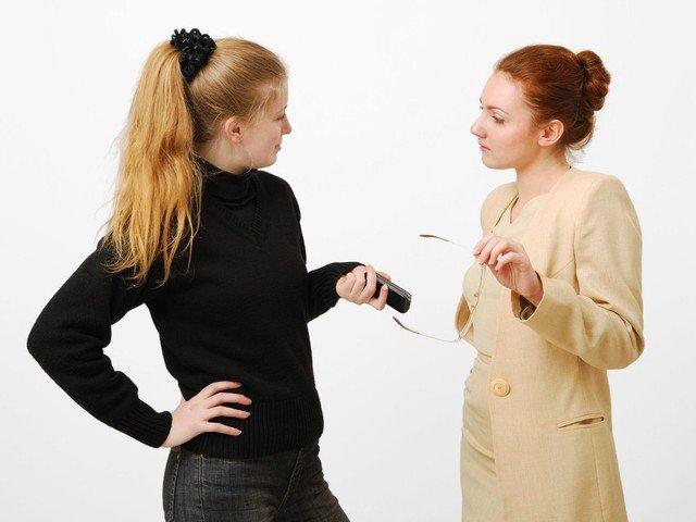 мама увольняет няню, когда следует уволить няню