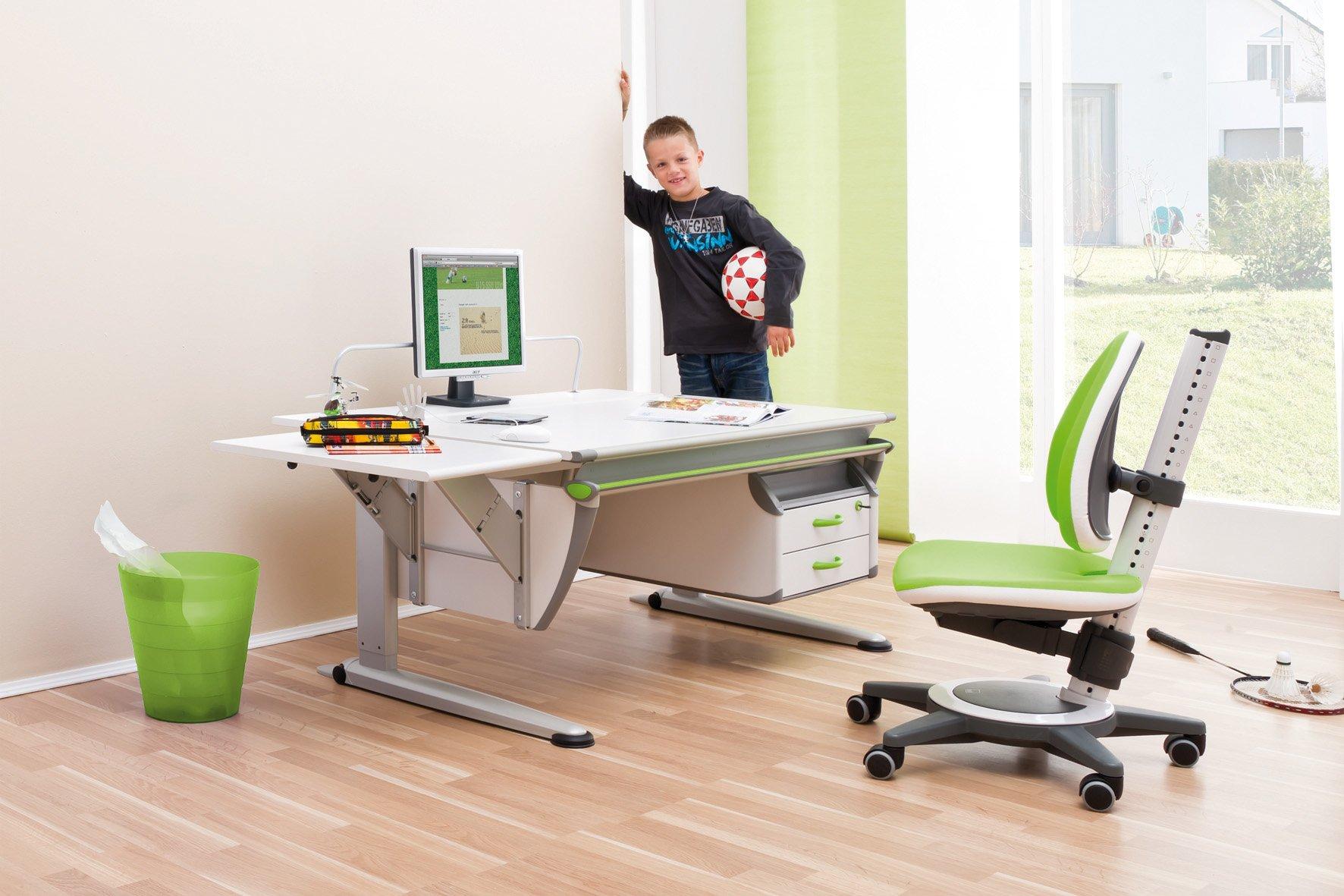 рабочее место ученика, как правильно выбрать стол и стул для ученика