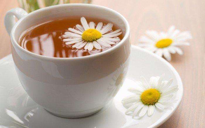 чай с ромашкой, помощник в бессонные ночи
