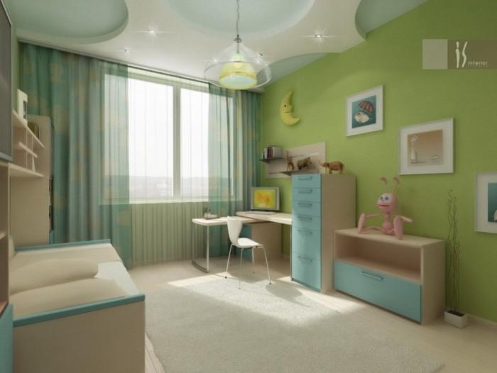 детская комната, необходимые предметы в детской комнате