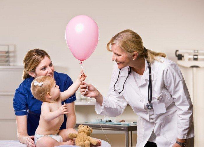 маленькая девочка на приеме у гинеколога, гигиена девочек