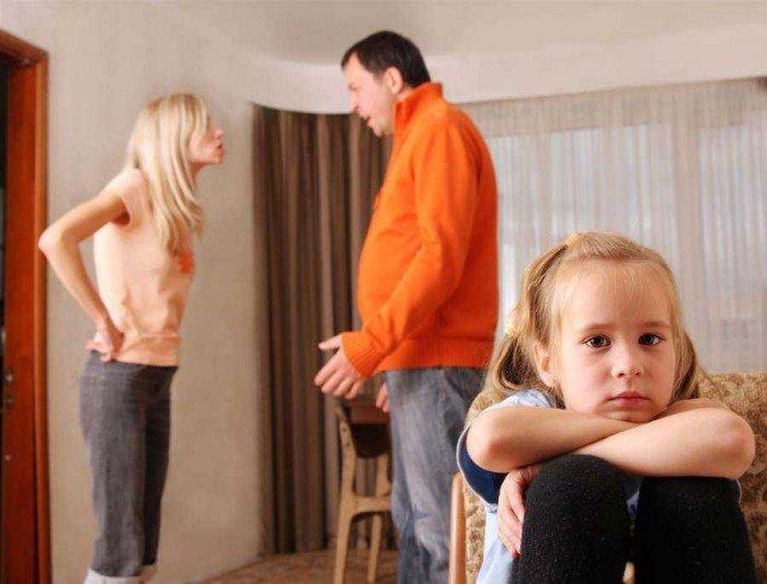 малыш и разводящиеся родители, как рассказать ребенку о разрыве родителей