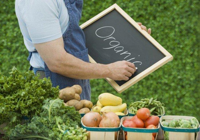 органические продукты, польза органики
