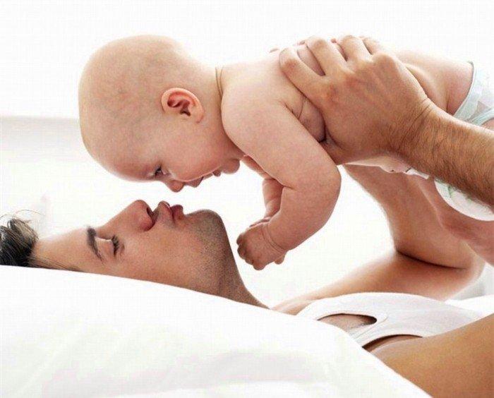 папа и малыш, все типы пап