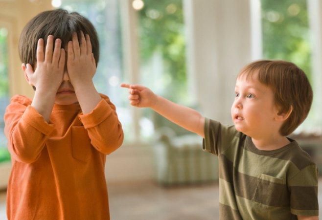 ссора малышей