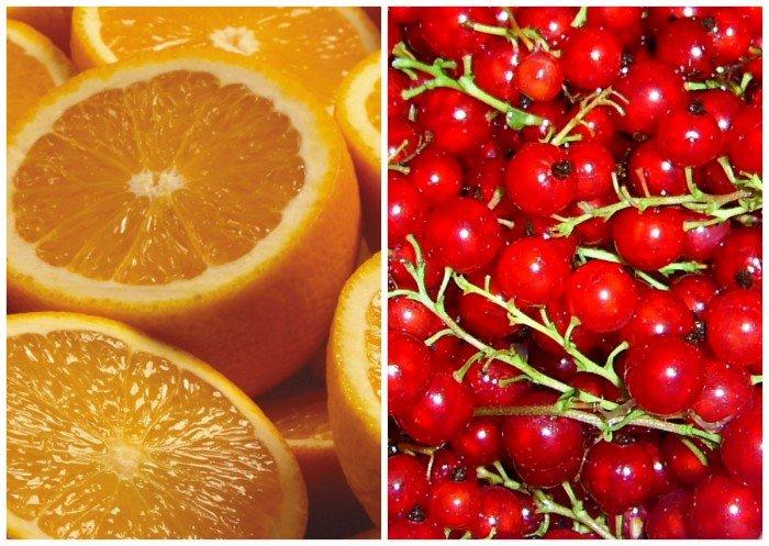 апельсины и смородина в рационе беременной женщины