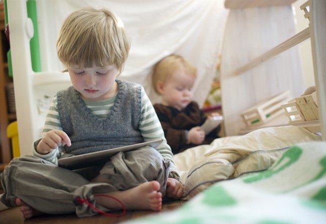дети играют в игры
