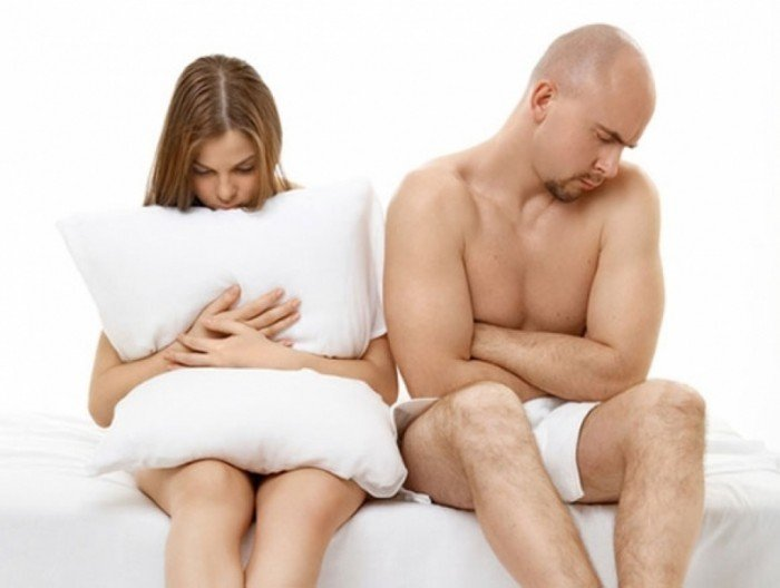 у пары не получается наладить сексуальную жизнь