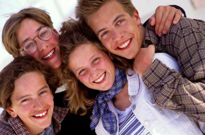 здоровые подростки, жизнь без алкоголя