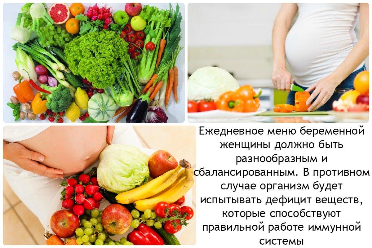 Какая должна быть диета при беременности