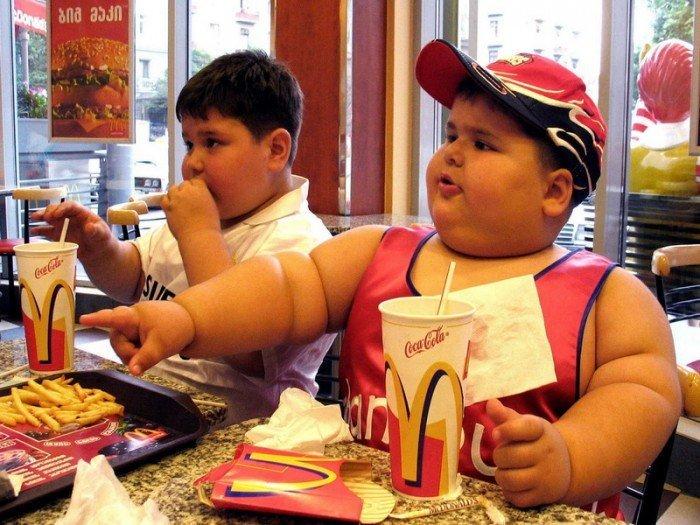 дети и фаст-фуд, отучение от вредной пищи