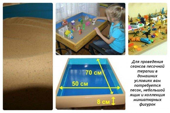 Песочная терапия: аксессуары