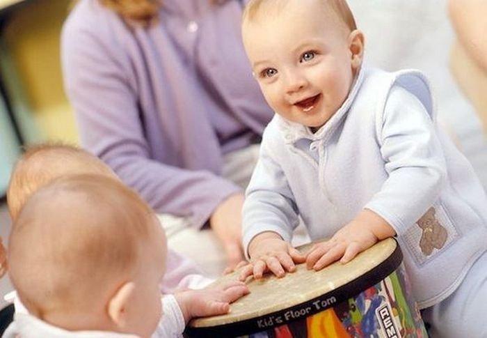 Музыка для грудничков: первые уроки