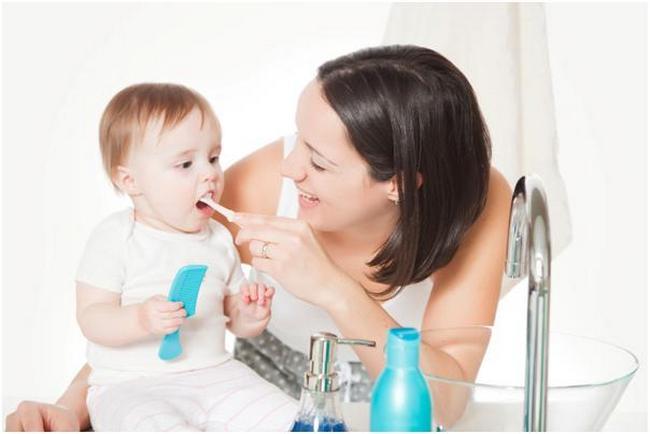 Гигиена полости рта - залог здоровья зубов у ребенка