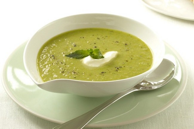 Суп из цветной капусты для детей