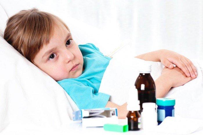 ребенок болеет, отличия заболеваний