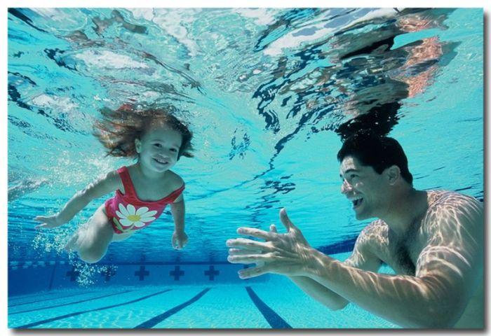 Плавание полезно для здоровья ребенка