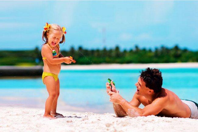 Игры с водой для детей 1-3 лет
