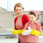 Вытираем тарелки