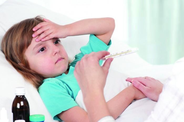 у ребенка температура, заболевание у детей