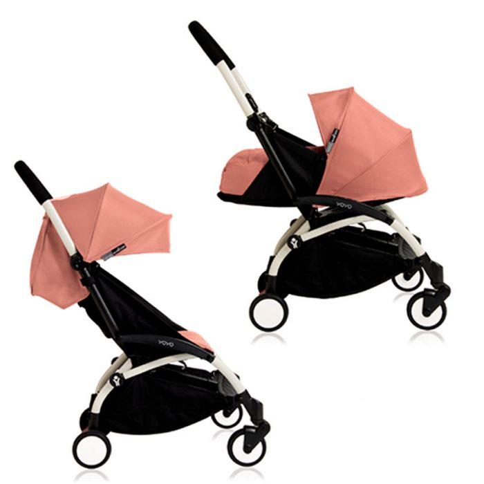 легкая коляска для новорожденных