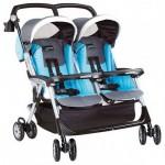 Прогулочная коляска для близнецов