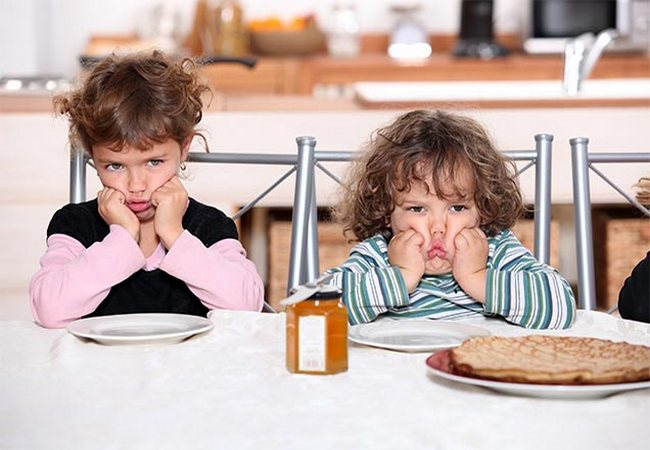 Дети отказываются от еды
