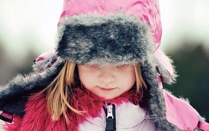 Девочка потеряла активность и жизнерадостность вследствие переохлаждения