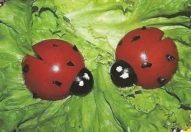 Детскиеы из помидора