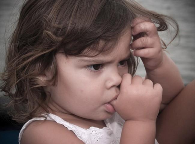 Девочка расстроена