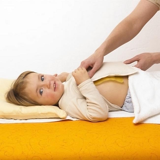 Согревающие компрессы при сухом кашле у ребёнка