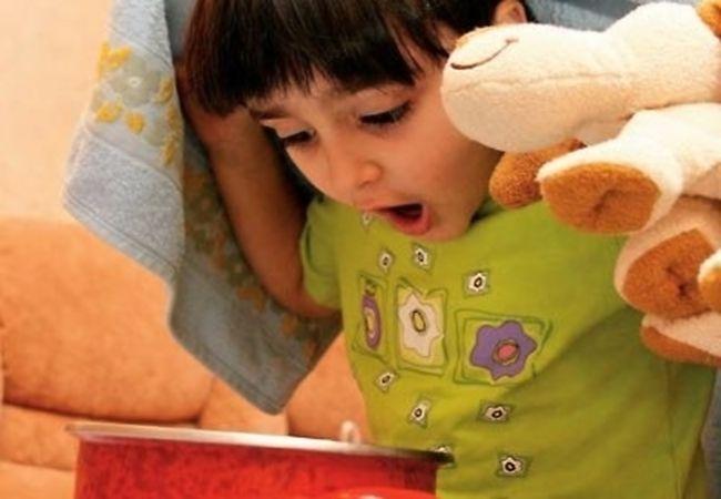 Ингаляции с содой и лекарственными травами от сухого кашля у детей