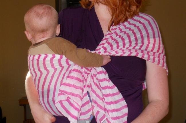 Размеры слинга-шарфа