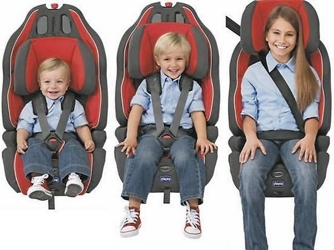 Универсальное автокресло для ребёнка