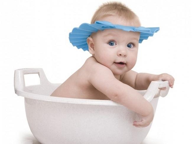 Ребёнок готов к купанию