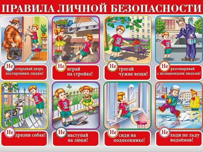 Техника личной безопасности для детей