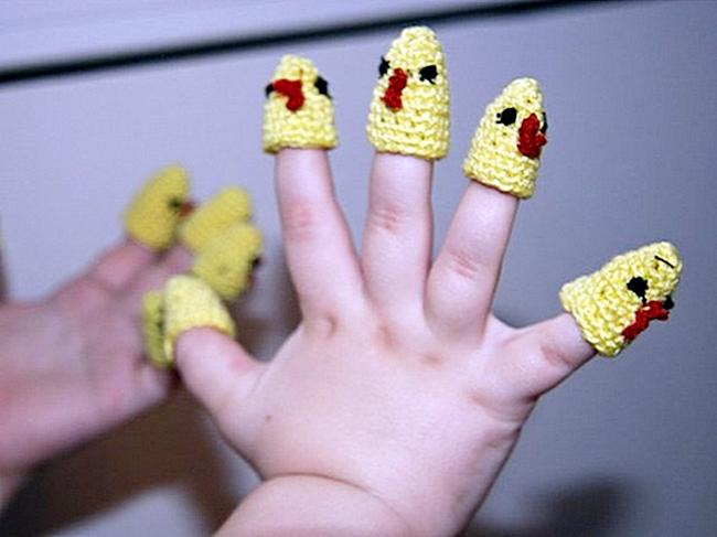 Пальчиковые игры для детей до года