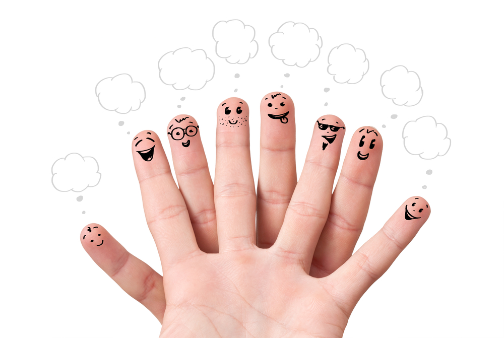 Картинка с пальчиками