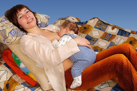 Положение Малыш на маме