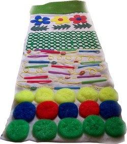 Комбинированный массажный коврик