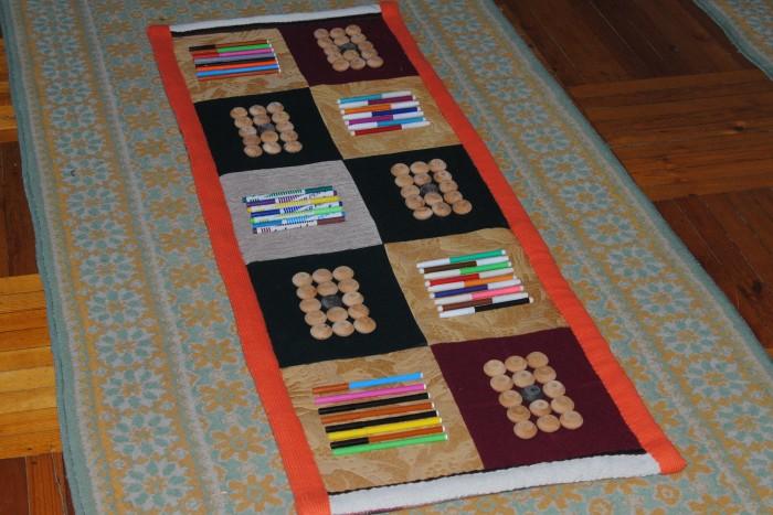 Массажные коврики своими руками для детей 50