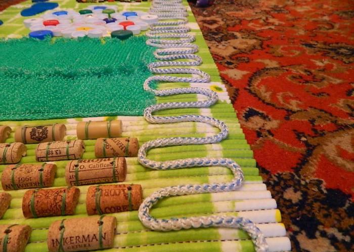 Массажный коврик для детей сделать своими руками