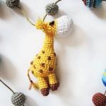 Украшение для слингобус жираф