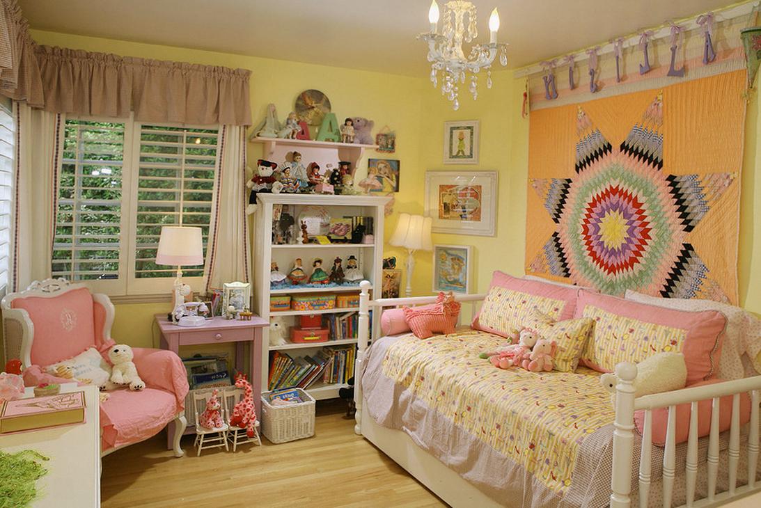 Секреты уютной детской комнаты