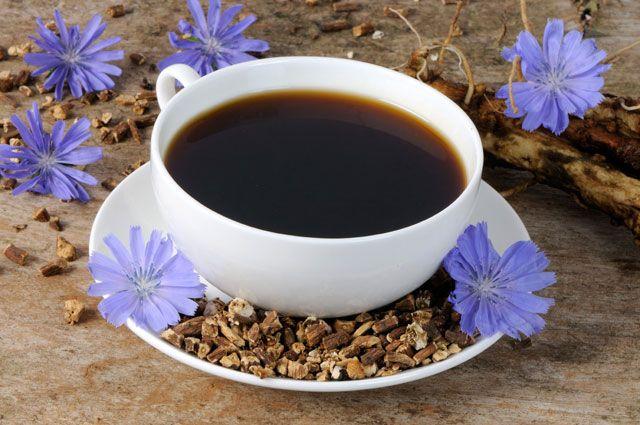 Напиток из цикория от анемии