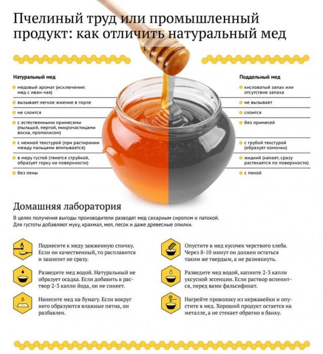 проверка на качество мёда