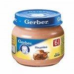 Мясное пюре «Gerber»